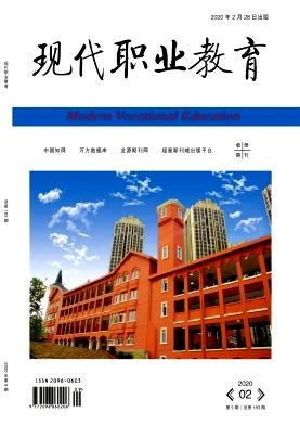现代职业教育杂志2020年09期目录