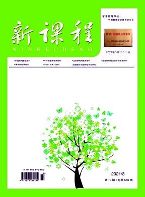 新课程杂志2021年10期作者目录